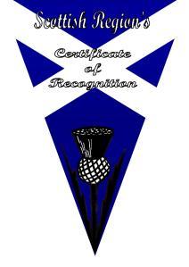 Scottish region Award b